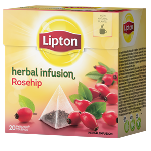 Lipton Herbal Infusion Hagebutte 20